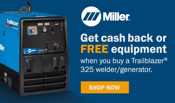 Miller trailblazer 325 rebate image