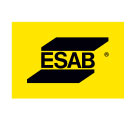 ESAB logo on yellow