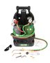 Victor® Model G150 J-PT Light Duty Acetylene Welding Outfit CGA-540/CGA-201 With Tanks