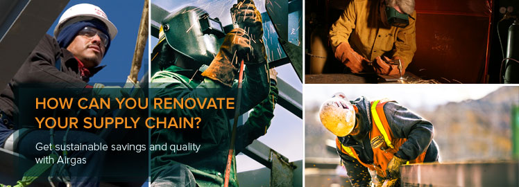 How can you renovate your supply chain? Get sustainable savings and quality with Airgas