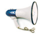 Brady® Blue And White 25 W Megaphone