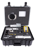 BW Technologies By Honeywell 16 inch W X 12 inch H X 20 inch D Plastic BW™ Ultra Deluxe Confined Space Kit For BW™ Ultra Monitor With Sampling Probe against white.