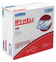 "Kimberly-Clark Professional* WYPALL* X90 8.3"" X 16.8"" Denim Blue HYDROKNIT* Extended Use Cloth Wiper"