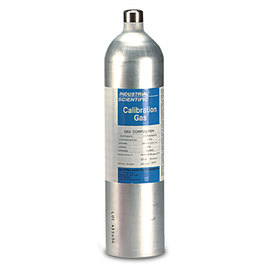 Industrial Scientific 10 PPM Chlorine Balance Nitrogen Mixed Calibration Gas, 58 Liter Disposable Aluminum Cylinder