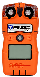 Close-up view of a TANGO TX1 monitor over a white background