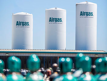 3 Airgas Air Separation Units represent just one of our many gas supply modes