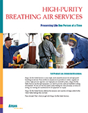 High-Purity Breathing Air Services