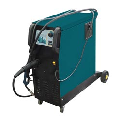 MIG Welder on white background