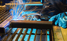 picture of MIG welding