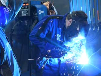 Hands on learning in an Unlocking the Hidden Cost of Welding Session