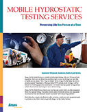 Mobile Hydrostatic Testing Services
