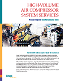 High-Volume Air Compressor System Services