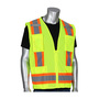 Protective Industrial Products Medium Hi-Viz Yellow Polyester/Mesh Surveyors Vest