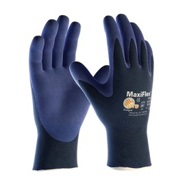 PIP® Size 2X MaxiFlex® Elite by ATG® Nitrile Work Gloves With Nylon/Lycra Liner And Knit Wrist