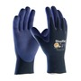 Protective Industrial Products Size 2X MaxiFlex® Elite by ATG® Nitrile Work Gloves With Nylon/Lycra Liner And Knit Wrist