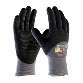PIP® Size 2X MaxiFlex™ Endurance™ Nitrile Work Gloves With Nylon Liner And Knit Wrist
