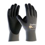 Protective Industrial Products Size 2X MaxiFoam® Lite by ATG® Nitrile Work Gloves With Nylon Liner And Knit Wrist