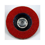 3M™ Flap Disc 747D, TN, T27 Quick Change, 4-1/2 in x 5/8-11, 60X-weight