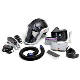 3M™ Versaflo™ TR-300N+ HIK Heavy Industry High Efficiency Powered Air Purifying Respirator Kit With Lithium Ion Rechargeable Battery