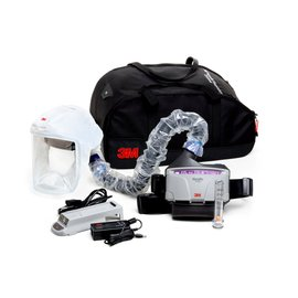 3M™ Versaflo™ Medium TR-300N+ HKS Healthcare High Efficiency Powered Air Purifying Respirator Kit With Lithium Ion Rechargeable Battery