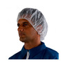 3M™ One Size Fits Most White Polypropylene Disposable Secure Fit Hairnet