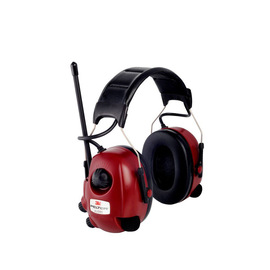 3M® Peltor™ Red Over-The-Head Radio Earmuffs