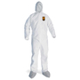 Kimberly-Clark Professional X-Large White KleenGuard A30 SMS Disposable Coveralls