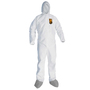 Kimberly-Clark Professional Small White KleenGuard A45 Microporous Film Laminate Disposable Coveralls