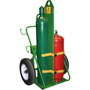 Saf-T-Cart Industrial Dual Cylinder Cart With 30