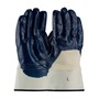 Protective Industrial Products Large ArmorTuff® Standard Nitrile Work Gloves With Cotton Liner And Safety Cuff