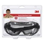 3M™ Professional Chemical Splash Impact Goggles With Black Frame And Clear Lens