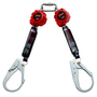 3M™ PROTECTA® Retracting Lifeline 3100414, Web, Twin legs, Thermoplastic Housing, Rebar Hooks, 6ft (1.8m)