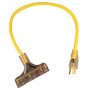 Radnor® 2' 15 A 125 VAC PVC Jacket Yellow Extension Cord