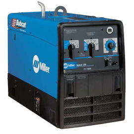 Miller® Bobcat™ 250 Engine Driven Welder With 23 hp Kohler® Gasoline Engine