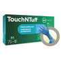 Ansell Large Blue TouchNTuff® 5 mil Nitrile Lightly Powdered Disposable Gloves (100 Gloves Per Box)