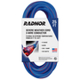 Radnor® 25' 15 A 125 VAC TPE Jacket Blue/Red Extension Cord