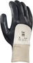 Ansell X-Large Edge® Medium Weight Foam Nitrile Work Gloves With Gray Interlock Cotton Liner And Knit Wrist