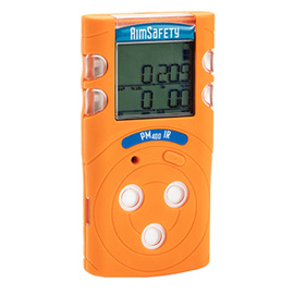 Macurco™ AimSafety PM400-IR Portable Oxygen, Hydrogen Sulfide, Carbon Monoxide And Combustible Gas Detector