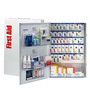 First Aid Only® White Metal Wall Mount 200 Person SmartCompliance® First Aid Cabinet