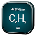 Stylized icon for Acetylene