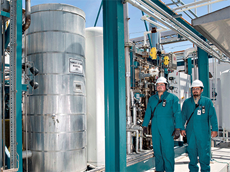 An Airgas on-site oxygen generation system provides an uninterrupted supply of hydrogen gas for your business.