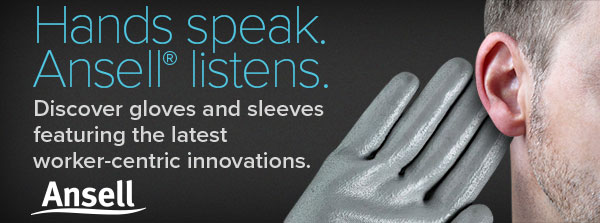 Hands speak. Ansell® listens.