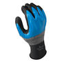 SHOWA® Size 10 13 Gauge Foam Nitrile Full Hand Coated Work Gloves With Seamless Knit Liner And Knit Wrist