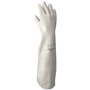 SHOWA® Size 10 White 46 mil Latex And Rubber Chemical Resistant Gloves