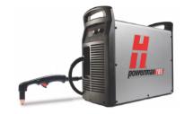 Hypertherm Powermax105® plasma system on white background