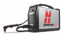Hypertherm Powermax45® XP plasma system on white background