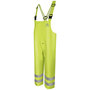 Bulwark® 2X Fluorescent Yellow/Green Cotton/Polyurethane Flame-Resistant Overalls/Bib Pants