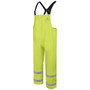 Bulwark® Medium Hi-Viz Yellow PVC  Modacrylic Knit Flame Resistant Overalls