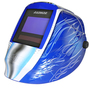 RADNOR® LITE 60 Blue/White Welding Helmet With 5