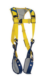 3M™ DBI-SALA® X-Large Delta™ Vest Style Harness With Back D-Ring, Tongue Buckle Leg Straps And Comfort Padding